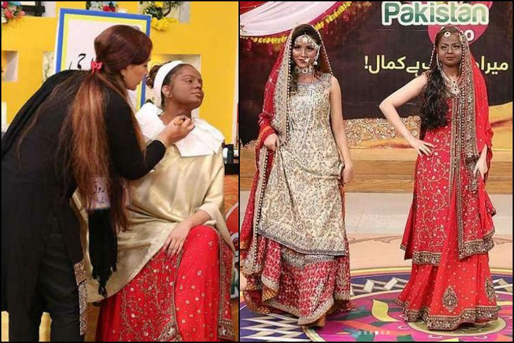 Pak TV show under fire for blackfacing models while showcasing makeup for dark skin