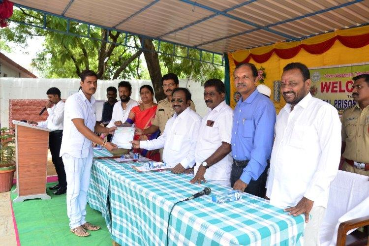 Towards a better future 30 inmates of Warangal central prison get degrees