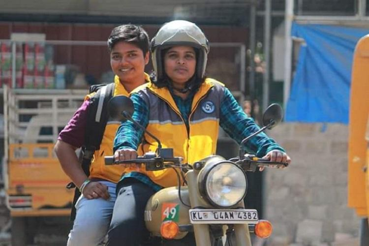 Meet the two trans men Amazon has hired as delivery persons in Kerala