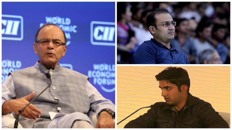 Top cricketers come out of the woodwork to defend Arun Jaitley