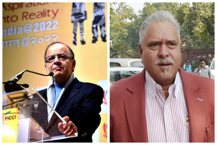 Pay dues honourably or face coercive action by lenders Arun Jaitley tells Mallya