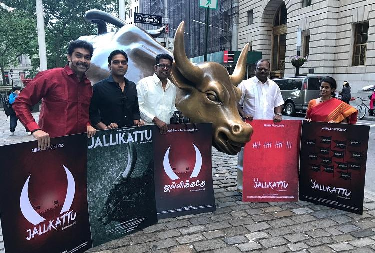See TNs untamed spirit on the big screen a film on jallikattu protests to release soon