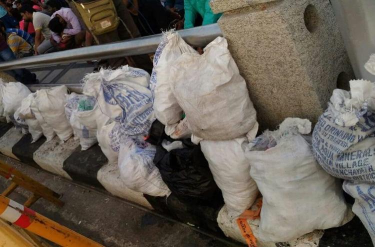 We do jallikattu we clean our trash Protestors on Marina Beach set an example