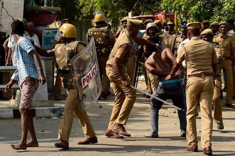 Was Chennai police hasty in dispersing protesters Voices are divided