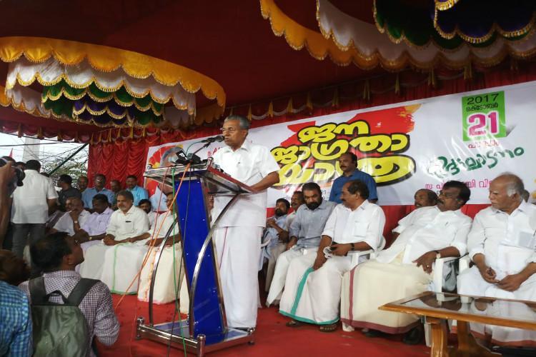 Kerala CM slams BJPs rhetoric against Taj Mahal says party cant tolerate Shah Jahan