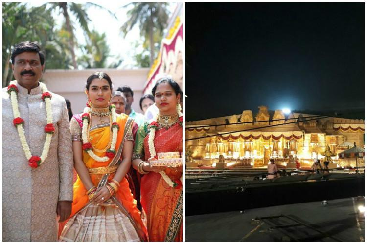 Cash King Karnataka billionaire builds model palace for daughters 500-crore wedding