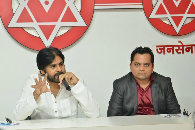 Pawan Kalyan introduces strategist for 2019 elections Was he part of the BJP once