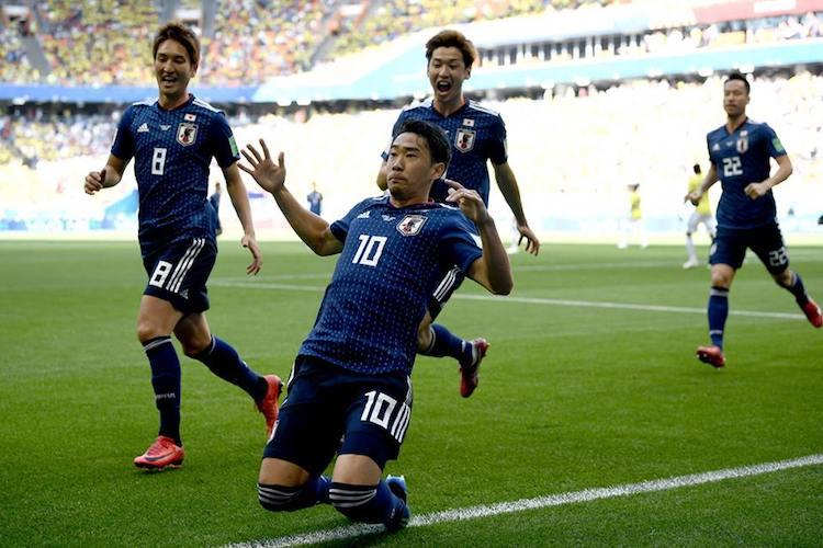 FIFA World Cup Japan stun 10-man Colombia create second upset of tournament