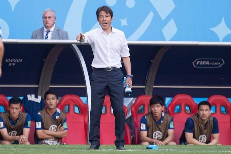 Japan coach defends football truce as his side qualify for last 16 in Russia