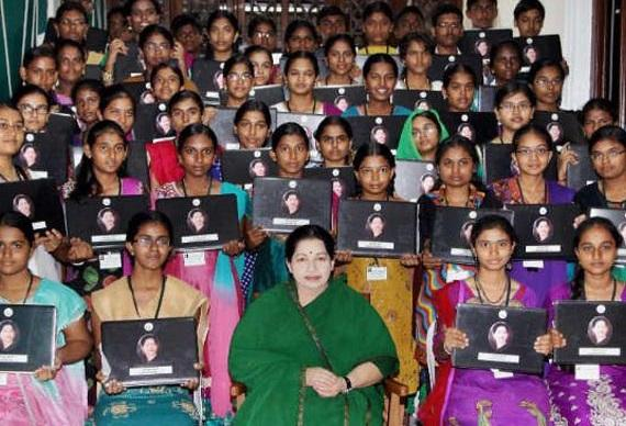 Freebies galore from AIADMK Jayalalithaa releases bumper manifesto