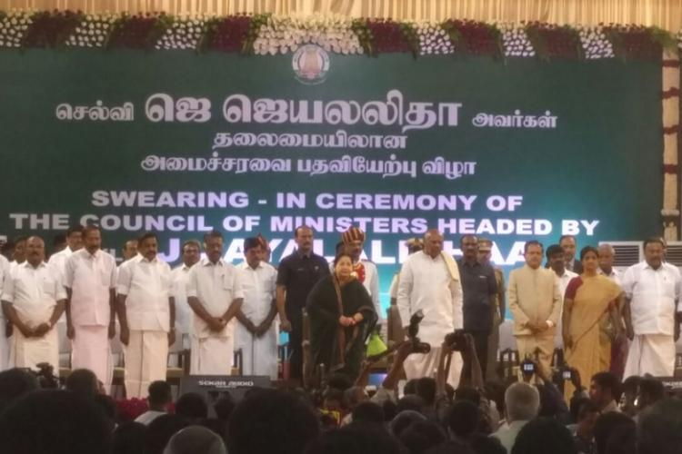Jayalalithaa takes oath as the CM of Tamil Nadu here is the full list of ministers