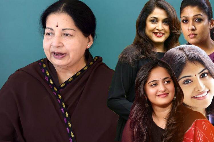 Nayanthara Anushka or Manjima Who should play the lead role if a Jayalalithaa biopic is made