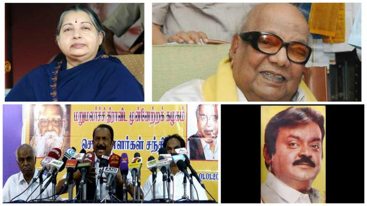 ABCD of Tamil Nadu politics A ready reckoner of political parties in the state