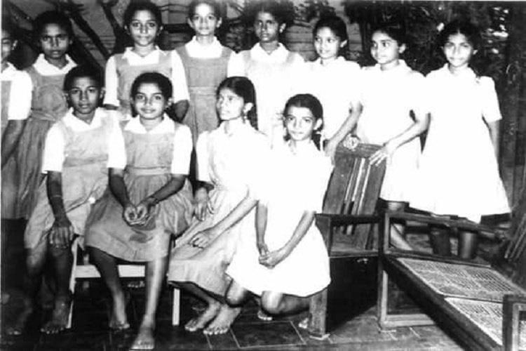 When Amma was a schoolgirl The girl who gave up her books for cinema