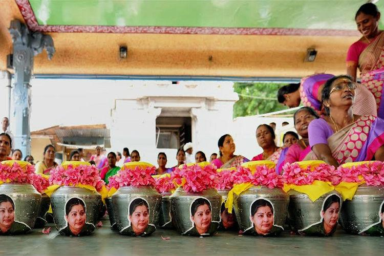Another AIADMK cadre dies in Salem while offering prayers for Jayalalithaas health