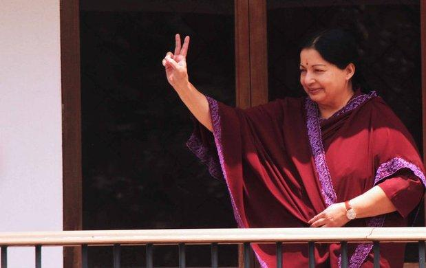 Jayalalithaa asks cadres to stop agitations against Congress EVKS