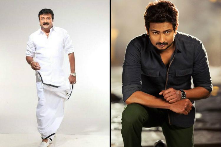 Jayaram roped in to play Udhayanidhi Stalins dad