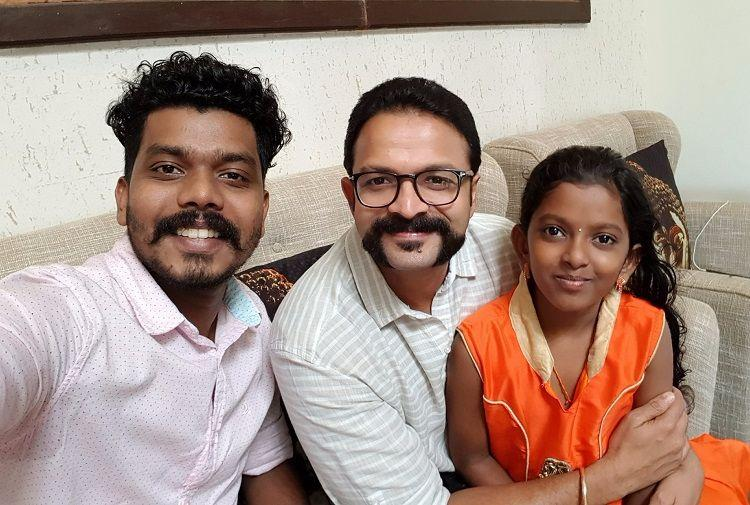 Actor Jayasurya tracks girl whose song went viral on Facebook gives her chance to sing in film