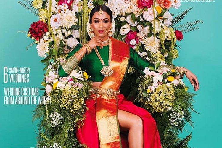 Picture of Tamil bride in saree with slit on magazine kicks up social media debate