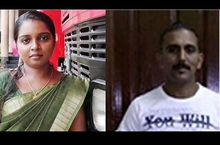She was on fire no one helped Father of Kerala woman set ablaze by husband in public
