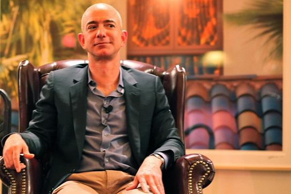 Amazon founder Jeff Bezos briefly overtakes Bill Gates to become worlds richest man