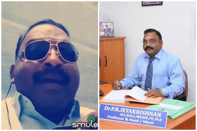 Coimbatore professor sings his way to internet fame trolls be damned