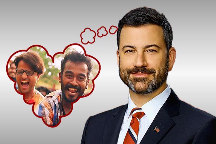 I love Jimikki Kammal says Jimmy Kimmel American TV host