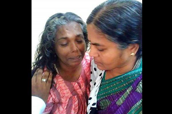 In solidarity Radhika Vemula assures Jishas mother she is not alone in her fight