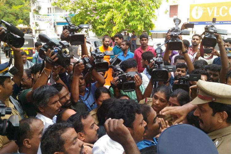 Why did Kerala police arrest activists who were with Jishnus family Questions raised