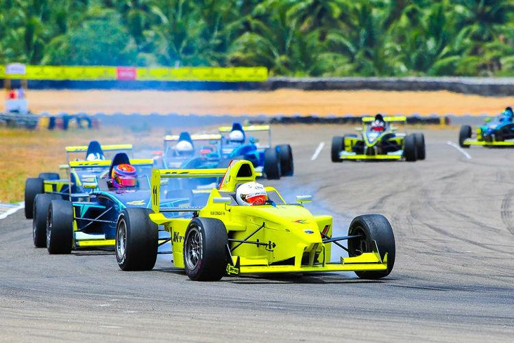 Hyderabads Anindith Reddy wins opening day races at JK Tyre national racing tourney