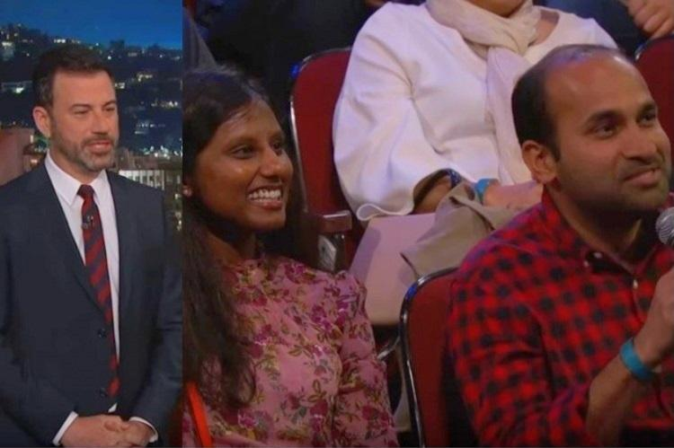 Jimmy Kimmel talks to Indian couple on arranged marriage and its hilariously awkward
