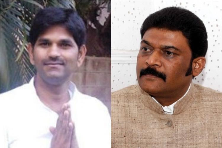 Anand Singh attacked me first Absconding Ktaka Cong MLA Ganesh cries conspiracy