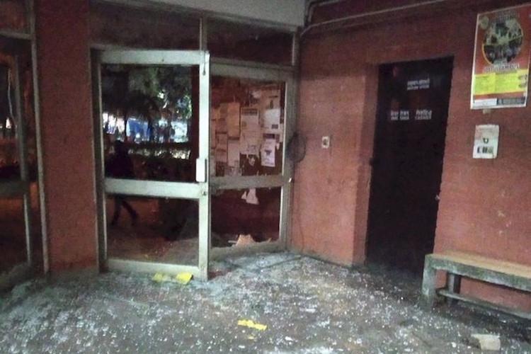 Biometrics CCTVs at server room were not vandalised RTI counters JNU claim