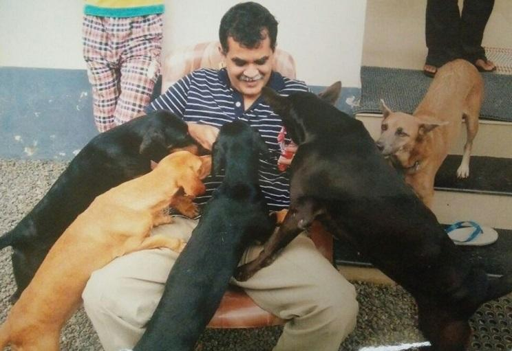 A Kerala couple join hands with the local administration to tackle stray dog menace