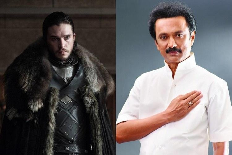 In DMKs Game of Thrones Stalin is Jon Snow Daenerys is Rahul Gandhi