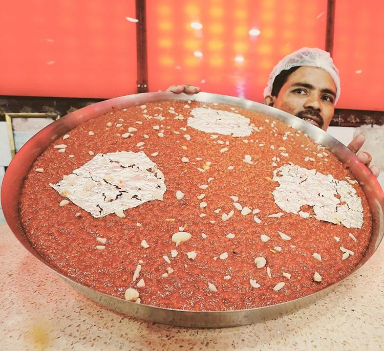 The Jouzi Halwa Hyderabad sweet dish that takes 16 hours to make and is to die for