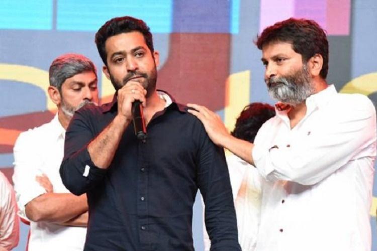 Jr NTR remembers father gets emotional during Aravinda Sametha event