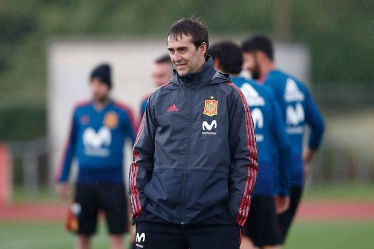 Real Madrid announce current Spanish head-coach Julen Lopetegui as manager