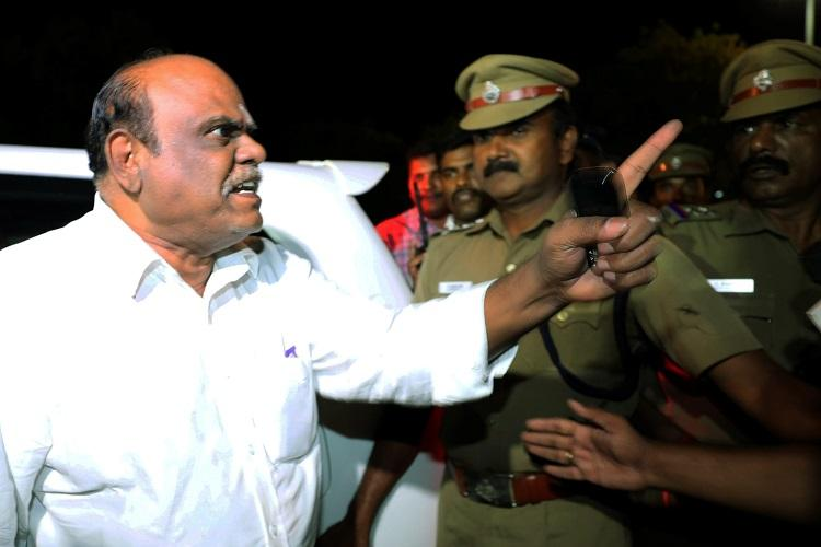 Police knew where Justice Karnan was hiding for 3 days tracked him before arrest on Tuesday