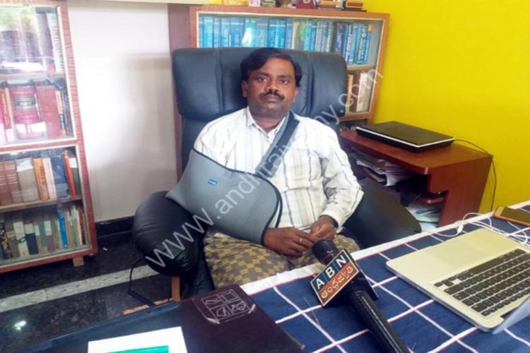 Dalit magistrate S Ramakrishna