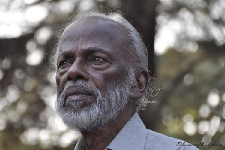Profile picture of K Damodaran in his old age