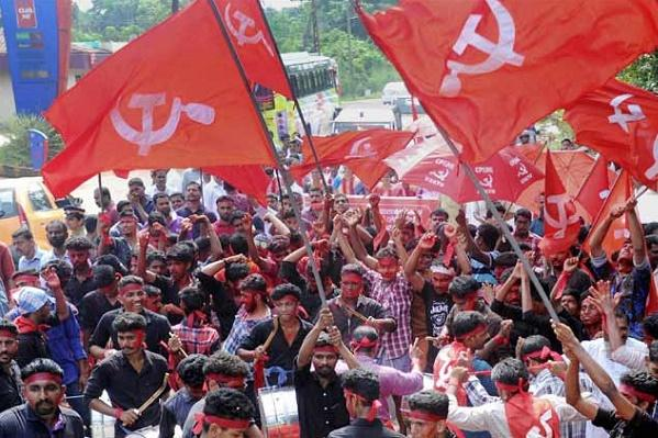 Curfew in Kannur CPIM says RSS on a murderous rampage