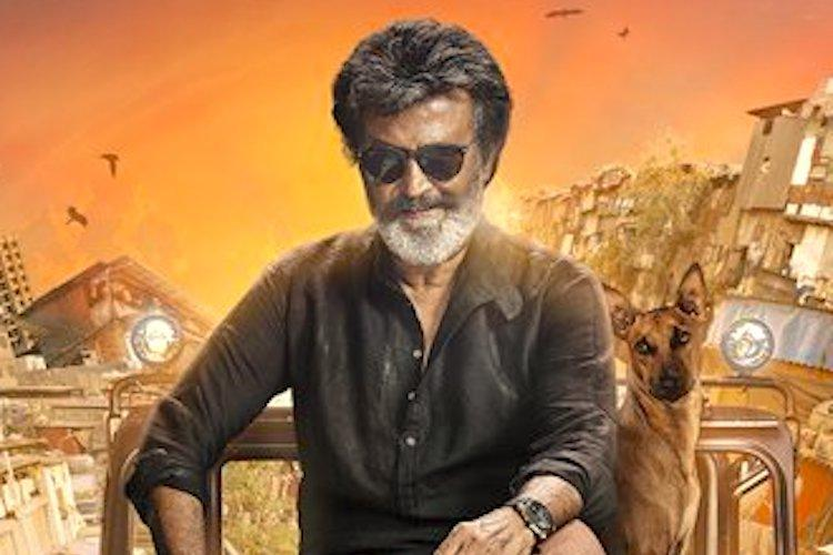 A dog a jeep and Mumbai in the background Rajinis first look in Kaala is super mass