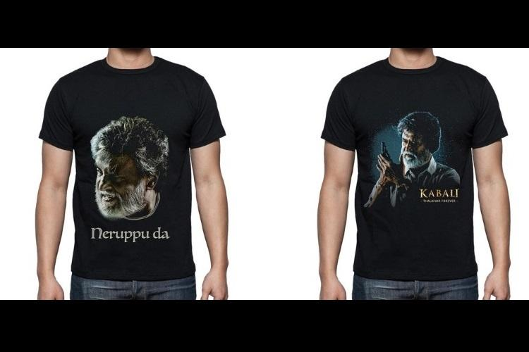 Rajini fan You need to get these awesome Kabali and Neruppu Da t-shirts then