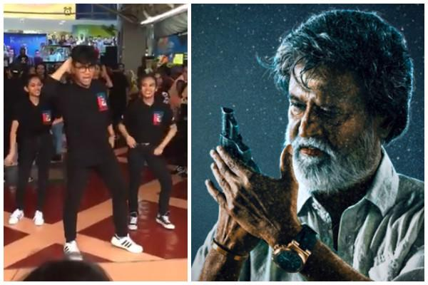 Watch Youngsters burst into flash mob in Malaysia to celebrate Kabali fever