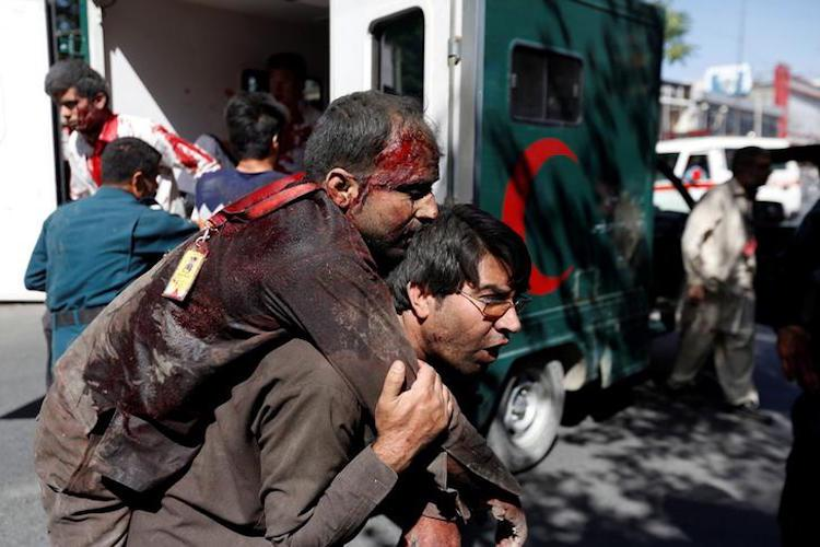 Dozens killed over 150 wounded in Kabul blast Indian mission staff safe