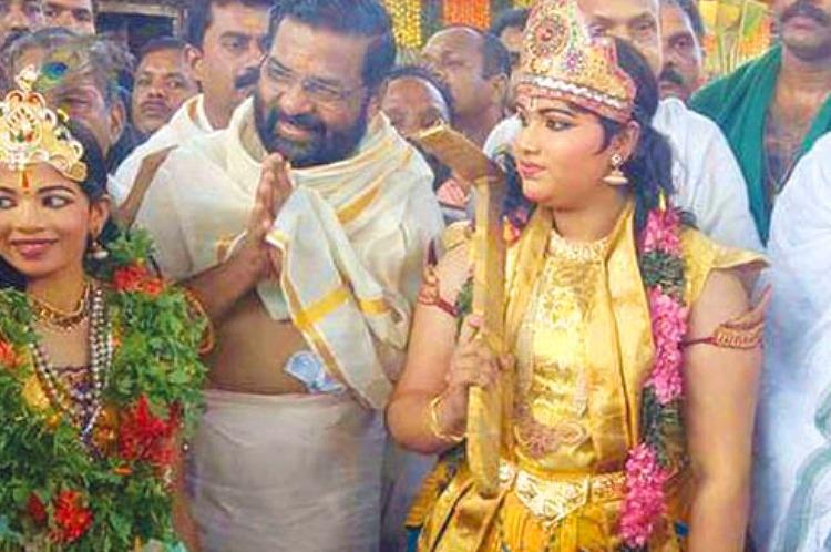 Kadakampallys visit to Guruvayur temple Is CPI M showing a friendly face to religious groups