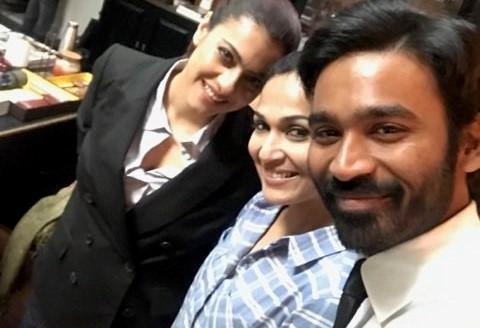 Bollywood actor Kajol begins shooting for VIP 2