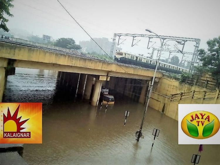 How Kalaignar and Jaya News reported on Tamil Nadu floods to serve political agendas