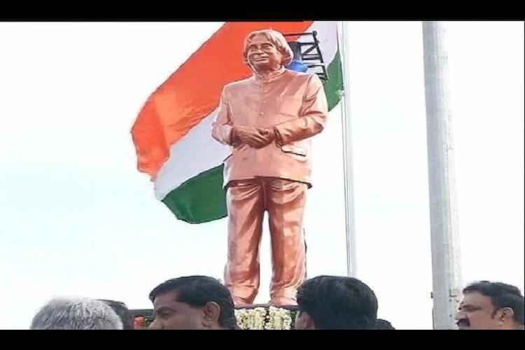 APJ Abdul Kalams statue unveiled at Rameswaram on first death anniversary